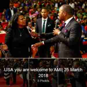 "Pastor Alph Lukau , Angola ""Luanda"" Alleluia Ministries International"