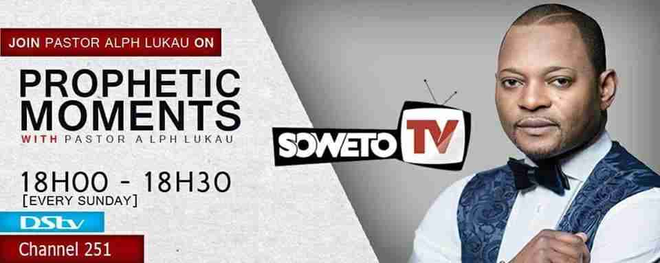 Pastor Alph Lukau DSTV Channel , Frequency , TV Station , Live Stream