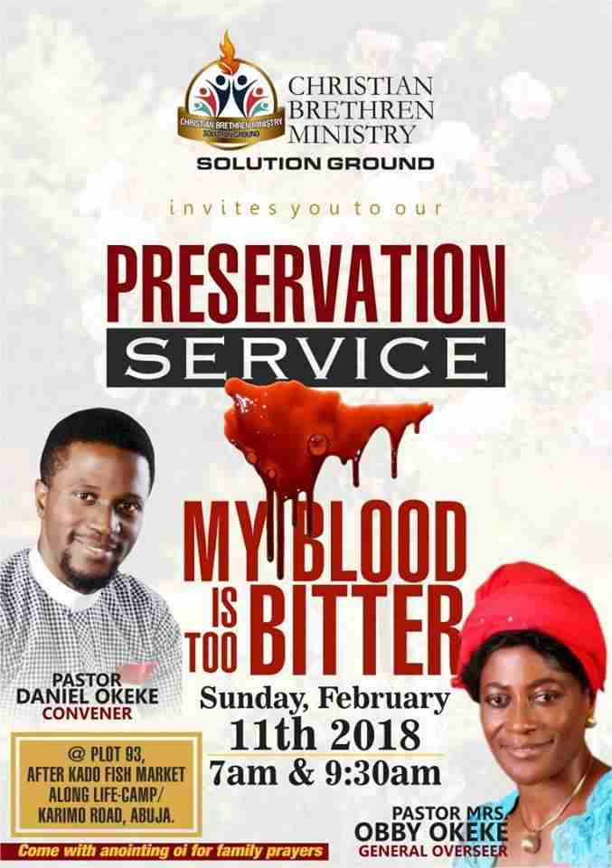 Pastor Daniel Okeke , Biography , Prayer Request , Phone Number