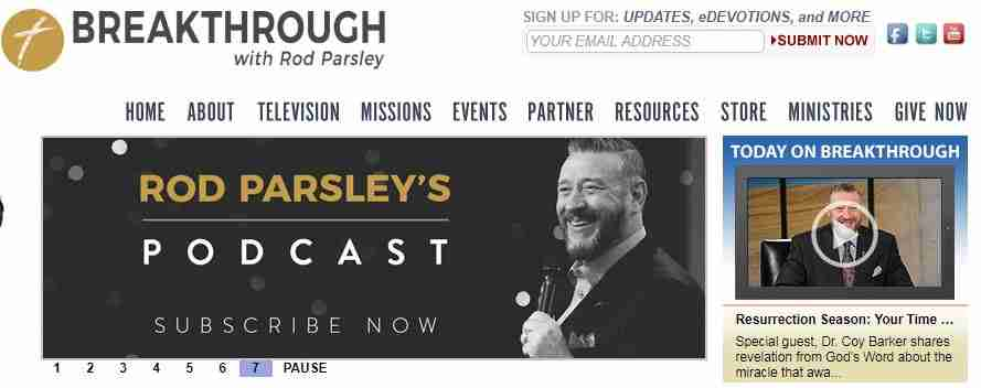 Rod Parsley Prayer Request , Prayer Line , Phone Number And Email ID