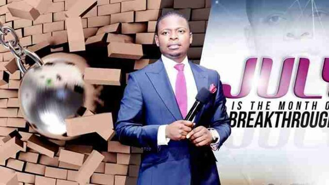 (Submit) Prophet Shepherd Bushiri Prayer Request - July 2018
