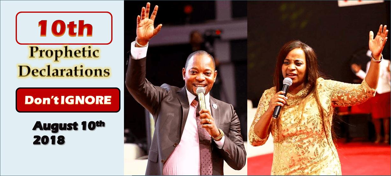 10th Prophetic Declarations (August 10th 2018) – Pastor Alph Lukau