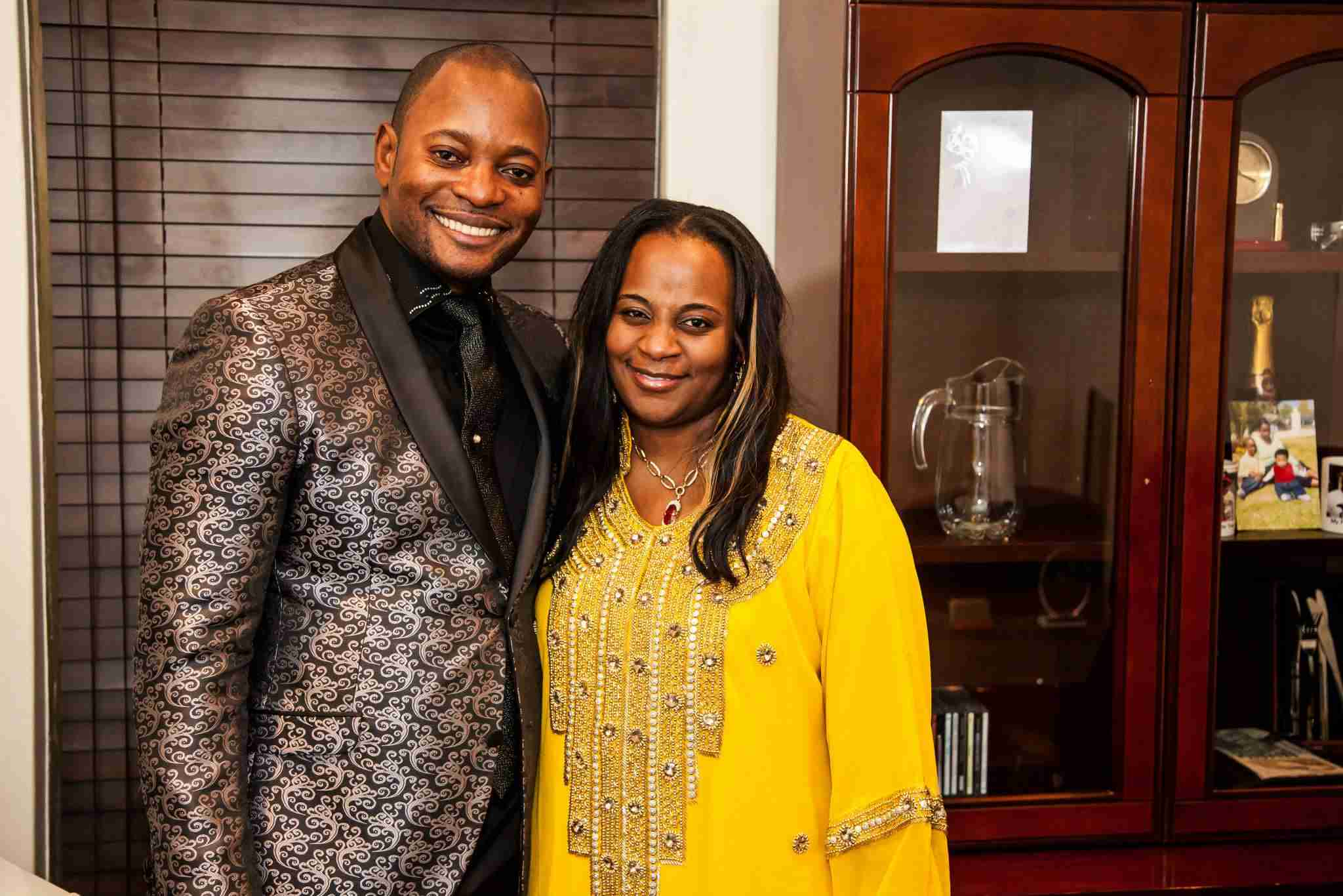 Pastor Alph Lukau Et Sa Femme , Photos de mariage , Les enfants