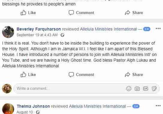 Alleluia Ministries International Reviews