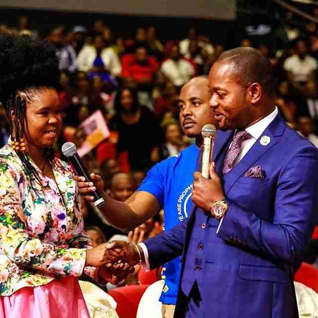 Pastor Alph Lukau Daughter , Baby Girl , Female Child - Full pictures