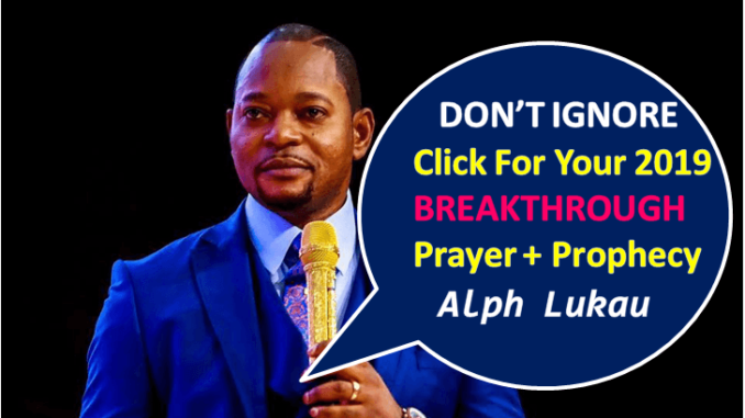 DAY 4 – Prayer For 2019 Breakthrough + Prayers and Fasting
