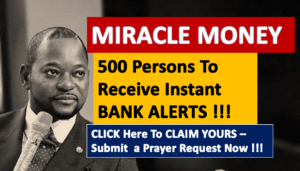 BANK ALERT MIRACLES – 500 Persons To Receive Bank Alerts Today – Click To Claim and Submit a Prayer Request