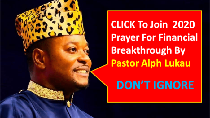 2020 Prayer