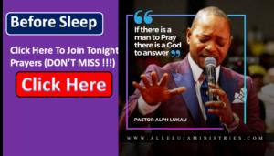 Alph Lukau Night Prayers