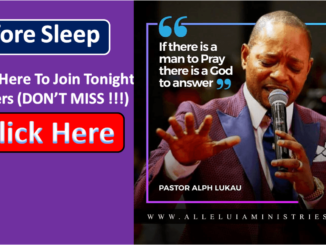 Alph Lukau Night Prayers
