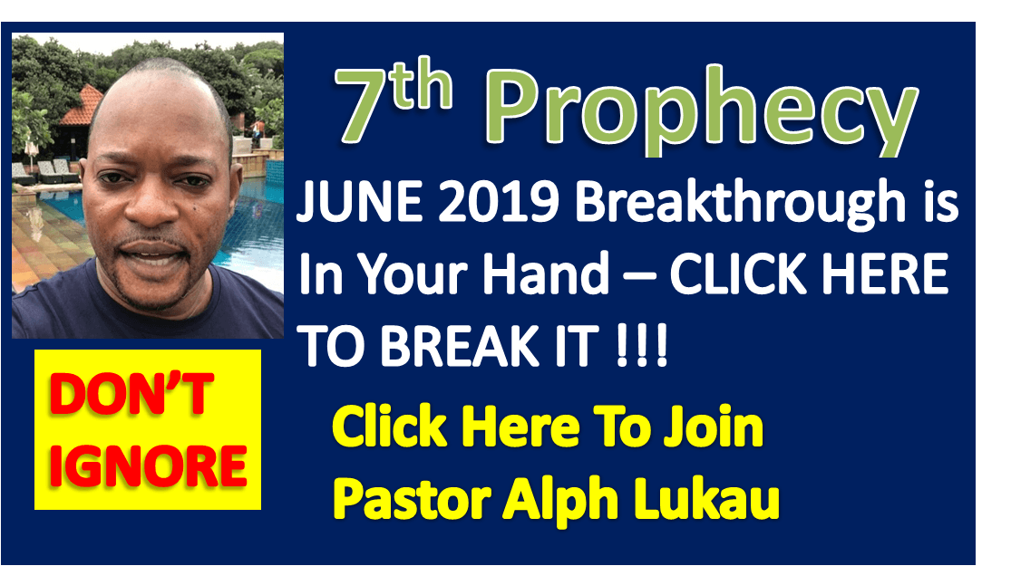 7th Prophecy Of The Month and Prayer For BREAKTHROUGH