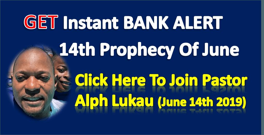 INSTANT BANK ALERT