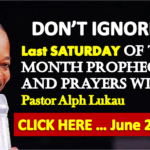 Last SATURDAY Of The Month Prophecy and Prayers With Pastor Alph Lukau - June 29th 2019