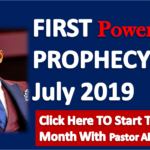 FIRST PROPHECY OF JULY 2019 - By Pastor Alph Lukau (Click Here To Start This Month With Pastor Alph Lukau)