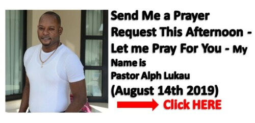 August Prayer