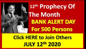 Bank Prophecy Sunday