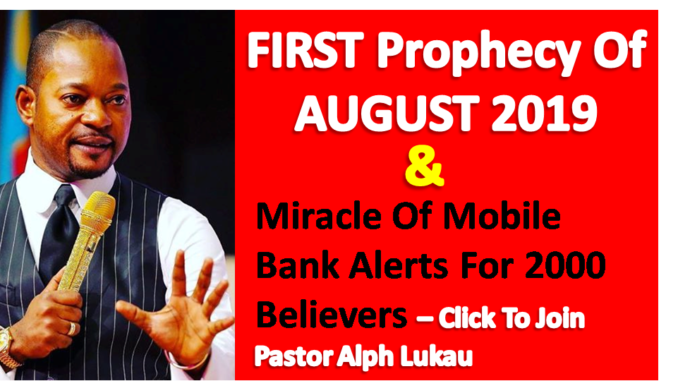 FIRST Prophecy Of August
