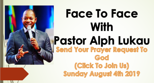 Face to Face With Pastor Alph Lukau – Send Your Prayer Request To