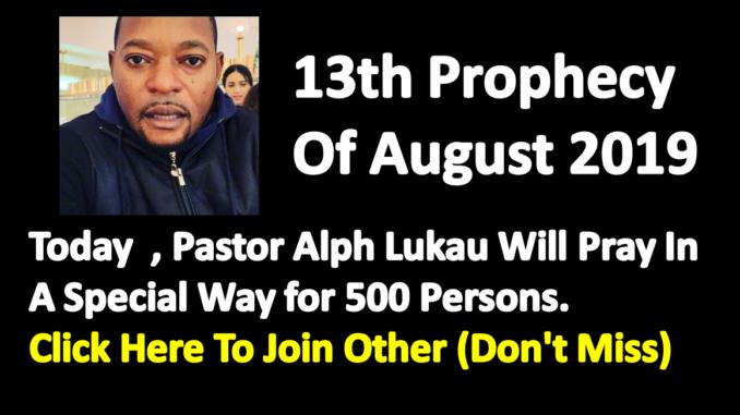 Alph Lukau Prayer