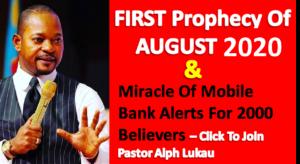 Prayer For August