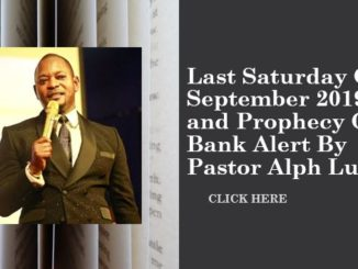 Alph Lukau Power Prayer