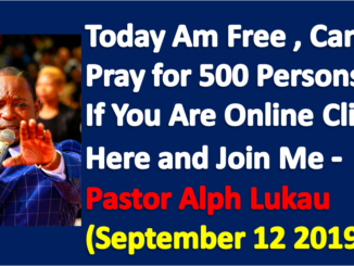 Free Prayer Time