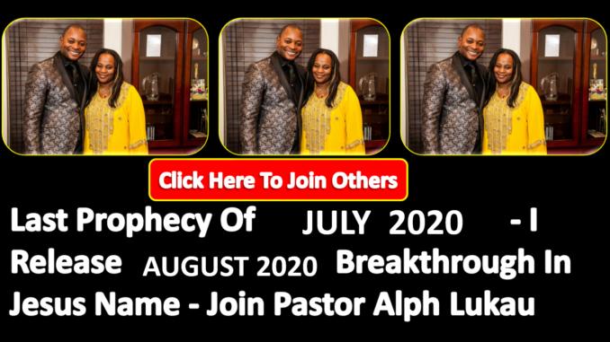July Prayers Today
