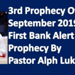 Prayer Points September