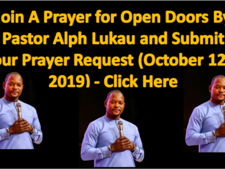 Alph Lukau Daily Powerful Prayer