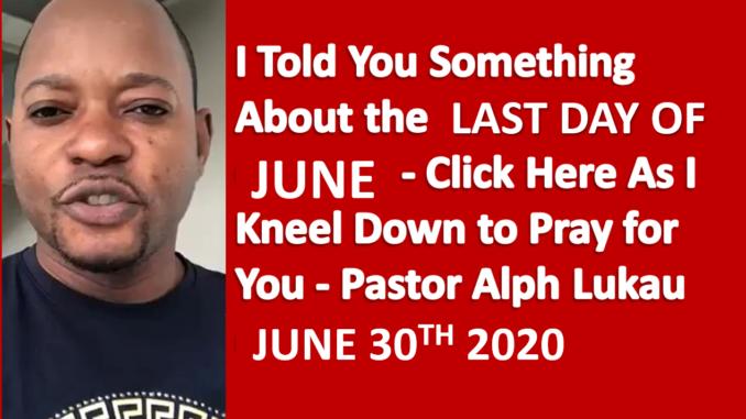 June End Prayer