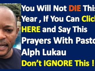 Alph Lukau Point In Prayers