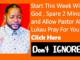 Lukau Weekly Prayers