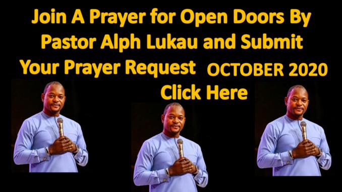 October Prayer Time