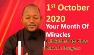 October Prayer