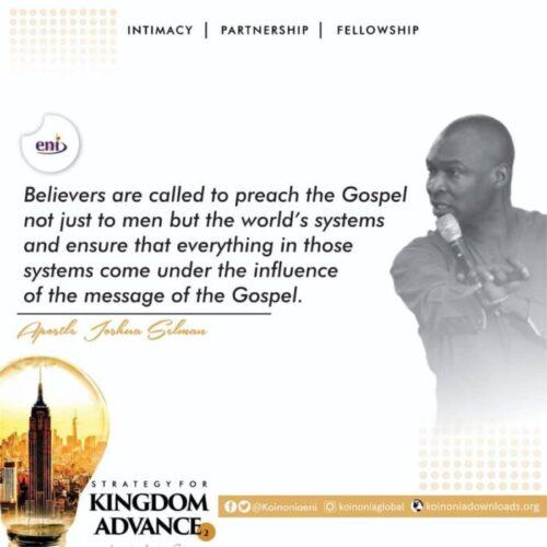 Contact Apostle Joshua Selman