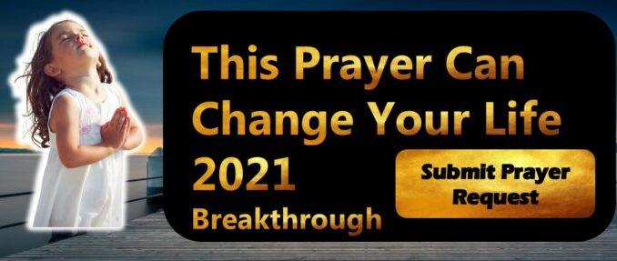 2021 Prayer For Breakthrough