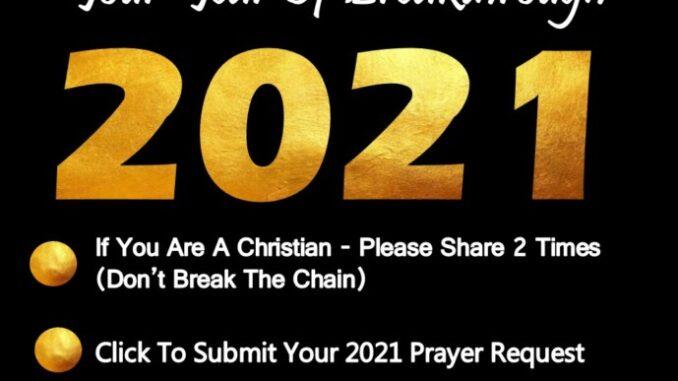 2021 Prayer Bank